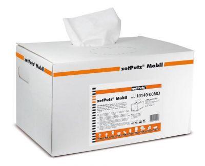 Lingettes nettoyantes zetPutz Mobil Multitex boîte (x200 lingettes)