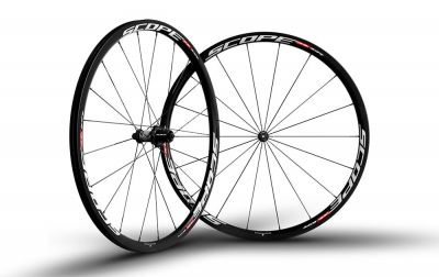 Roues Scope R3C 30 mm Shimano 11V Blanc (Paire)