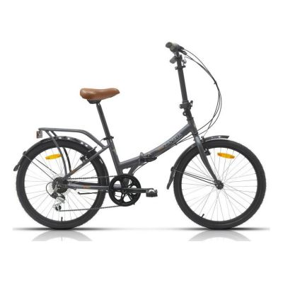 Vélo Pliant Megamo Maxi 24'' Gris 2020