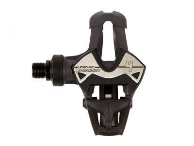 Pédales Time Xpresso 4 (Carboflex Blade & Iclic) Gris foncé/Noir