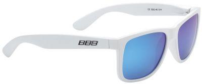 Lunettes BBB Street verres polarisés bleus Blanc / Bleu - BSG-46