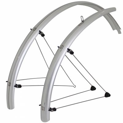 Garde-boue Stronglight Country VTT à tringles 26'' 54 mm Argent (paire)