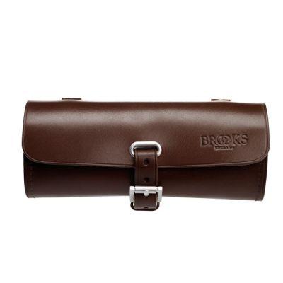 Sacoche de selle Brooks Challenge Trousse à outils Cuir 0,5 L Antic Brown