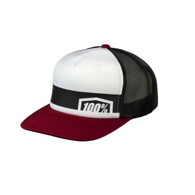 Casquette 100% Trucker Hat Brick