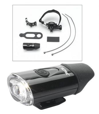 Éclairage avant sur casque XLC LED CL-F20 Noir