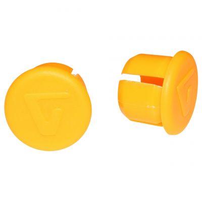 Bouchons de cintre VELOX Orange Fluo (la paire)