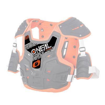 Sticker de rechange pour pare-pierre O'Neal PXR Noir/Orange