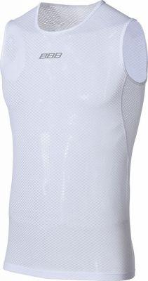 Sous-vêtement ss manches BBB MeshLayer mailles ajourées Blanc - BUW-10