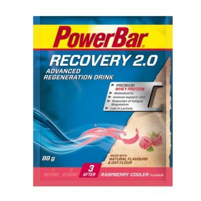 Boisson de récupération PowerBar Recovery Framboise 88 gr