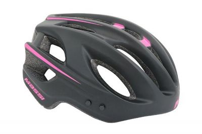Casque Massi JUNIOR Noir/Rose