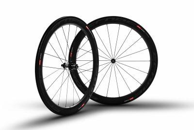 Roues carbone Scope R5c 55 mm pneu Shimano 11V Noir