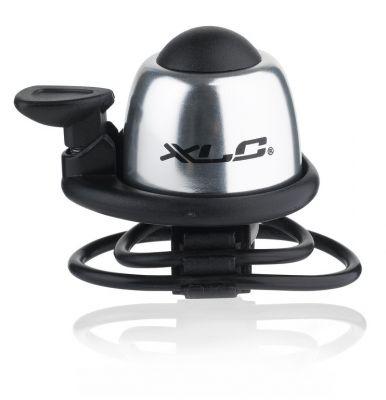 Mini sonnette XLC DD-M07 Sport Fix. sangle Alu Argent