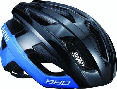 Casque BBB Kite Noir brillant/Bleu - BHE-29