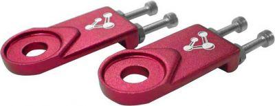 Tendeurs de chaine Genetic 10 mm (Paire) Rouge