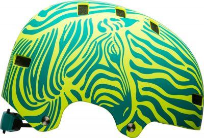 Casque Bell SPAN Mat Emerald/Retina Sear Zebra