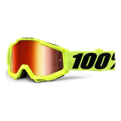 Masque 100% Accuri Fluo Yellow/Red