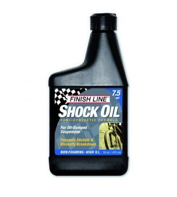Huile de fourche Finish Line Shock Oil 7,5 WT - 16oz (473ml)