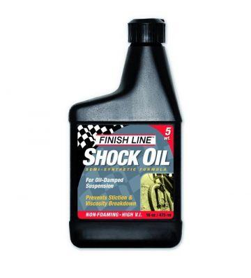 Huile de fourche Finish Line Shock Oil 5 WT - 16oz (473ml)