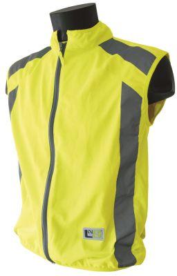 Gilet de sécurité sport L2S Visioplus Jaune fluorescent réfléchissant