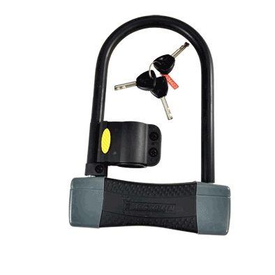 Antivol U Michelin 105 x 180 mm Avec support Noir