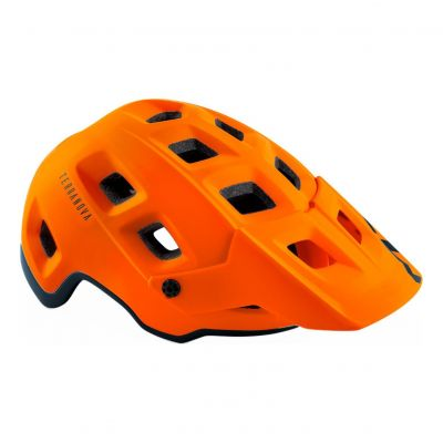 Casque MET Terranova Orange/Noir Mat