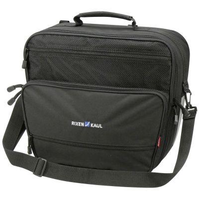 Sacoche latérale KLICKfix Travelbag 18 L Noir