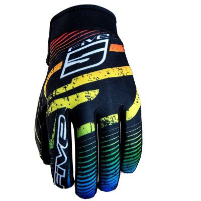 Gants Five Planet Fashion Logo Rainbow