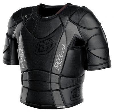 Gilet de protection Troy Lee Designs 7850 Manches courtes Noir