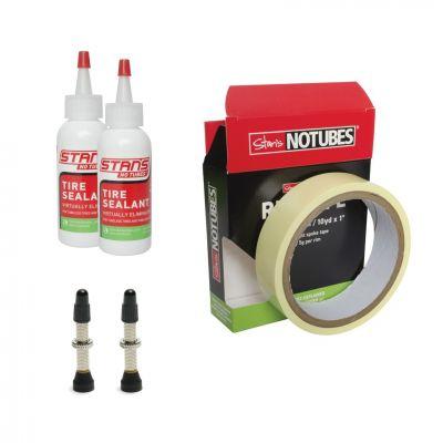 Kit de conversion tubeless Stan's NoTubes 25 mm Valves 35 mm