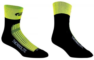 Chaussettes BBB ThermoFeet (jaune fluo) - BSO-11