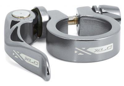 Collier tige de selle XLC PC-L04 Alu 31,6 mm serrage rapide Coloris Titane