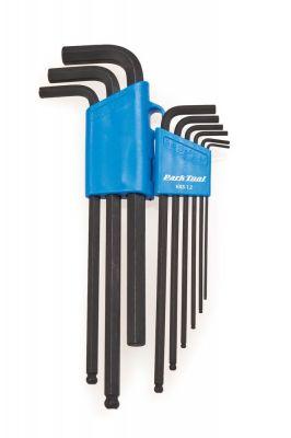 Kit Park Tool de 9 clés allen (modèle long) - HXS-1.2