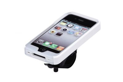 Support + étui BBB Iphone 4 Patron (blanc) - BSM-02