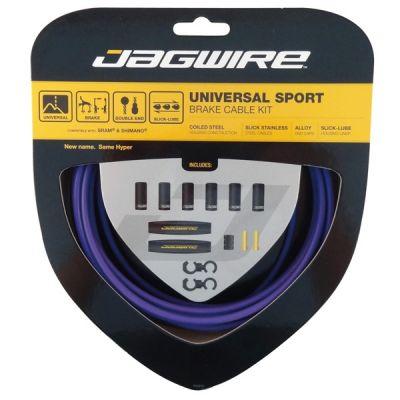 Kit câble et gaine de frein Jagwire Universal Sport - Violet UCK416