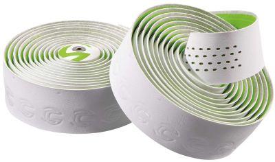 Ruban de cintre Cannondale Premium Plus Microfibre Blanc/Vert