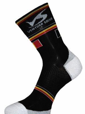 Chaussettes Ventura Socks Carbone Nation Belgique Noir