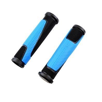 Poignées ProGrip 807 125 mm avec bouchons Noir/Bleu