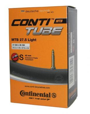 Chambre à air Continental VTT Light 27.5 x 1.75/2.40 Presta 42 mm