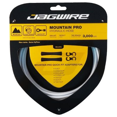 Kit durite hydraulique Jagwire Mountain Pro - Blanc