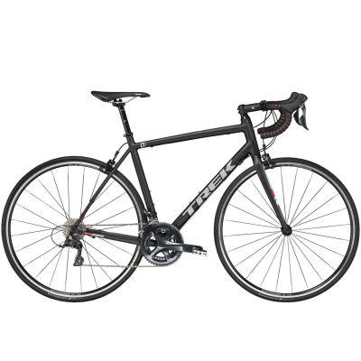 Vélo route Trek 1.2 Compact H2 Noir Mat 2017