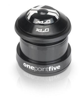 """Jeu de direction A-Head XLC Comp HS-I10 semi-intégré conique 1.1/8"""" - 1,5"""" conique Noir"""