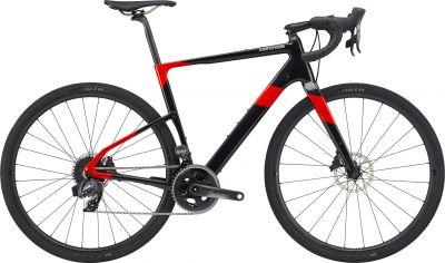 Vélo de Gravel Cannondale Topstone Carbone Sram Force eTap AXS Rouge 2020