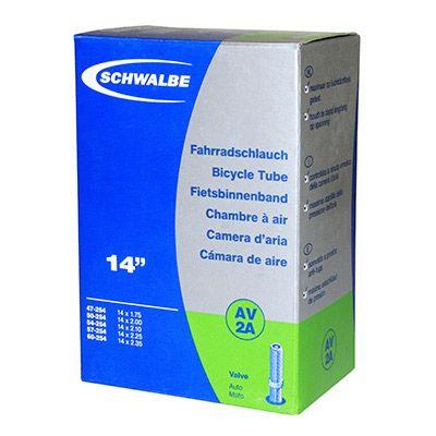 Chambre à air Schwalbe 14 x 1.75./2.35 AV2A Schrader 40 mm