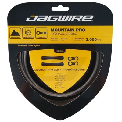 Kit durite hydraulique Jagwire Mountain Pro - Titanium