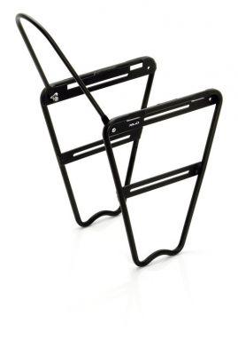Porte-bagages avant XLC Lowrider alu LR-F01 p. fourche susp. Noir