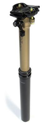 Tige de selle Thomson Elite Dropper noire 31,6 mm x 400 mm Déb. 125 mm