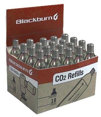 Kit de 20 cartouches de CO2 Blackburn 16 g filetées