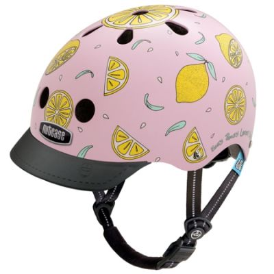 Casque enfant Nutcase Little Nutty Pink Lemonade