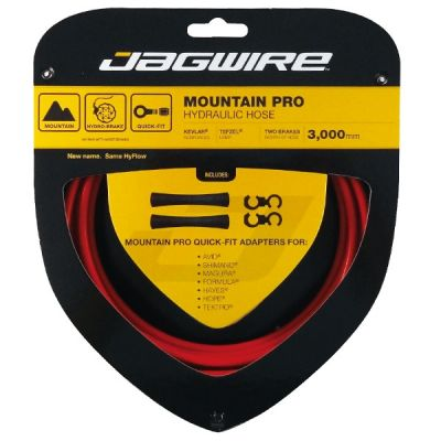 Kit durite hydraulique Jagwire Mountain Pro - Rouge