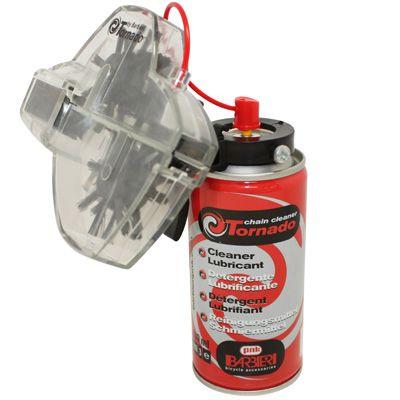 Nettoyeur de chaîne Barbieri Tornado + Spray dégraissant 150 ml